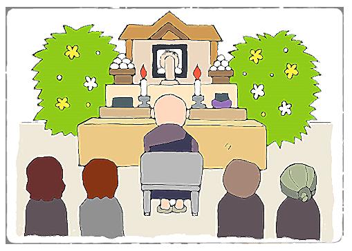お葬儀の様子